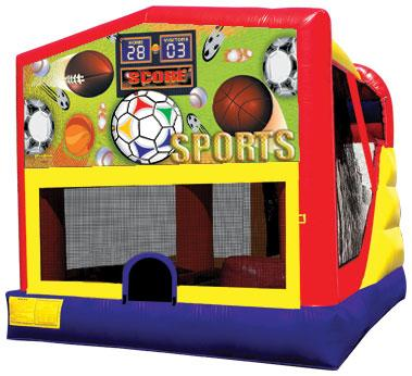Large Module Combo House with Sports Panel