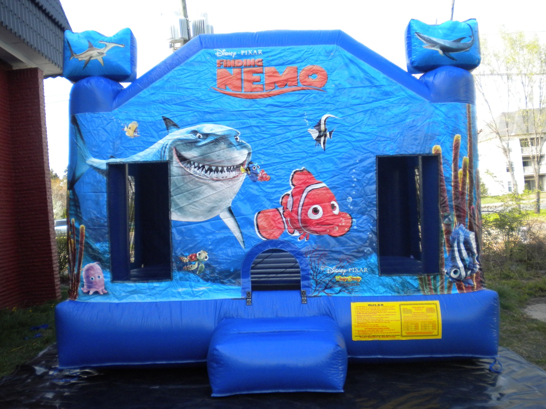 finding nemo house