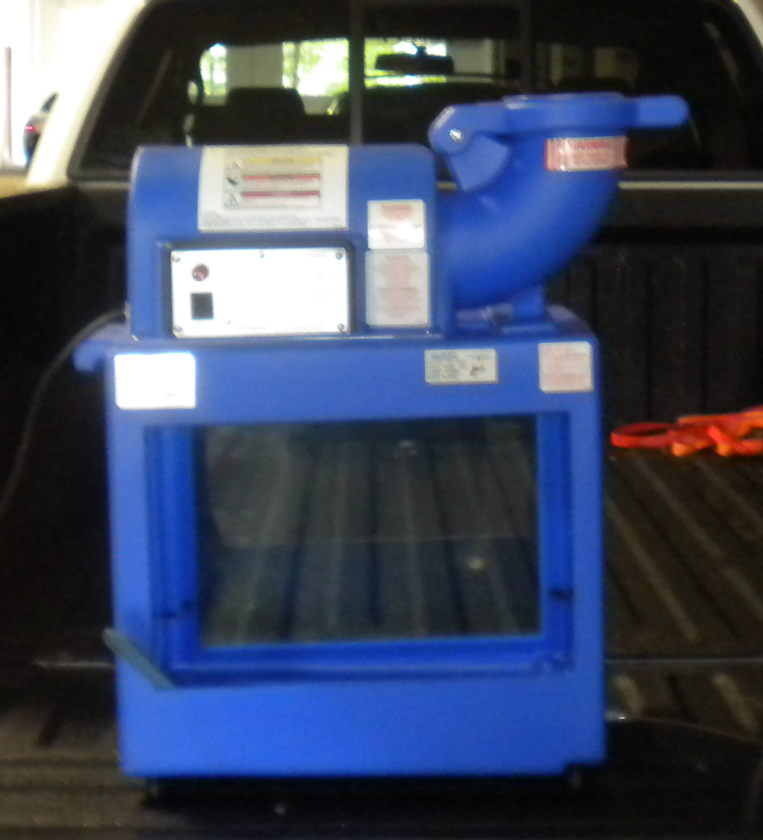 Snow Cone Machine Front View