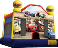 Cars Jumper Moonbounce Rental