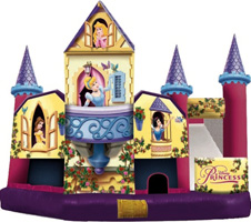 Disney Princess Combo Moonbounce rental